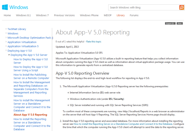 MS_Reporting_Technet